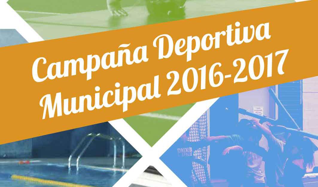 CAMPAÑA DEPORTIVA MUNICIPAL 2016-2017