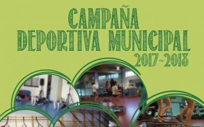 CAMPAÑA DEPORTIVA MUNICIPAL 2017-2018